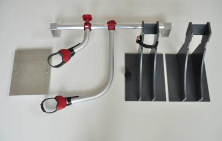 Easy Bike Fix der flexible Radhalter für die Heckgarage